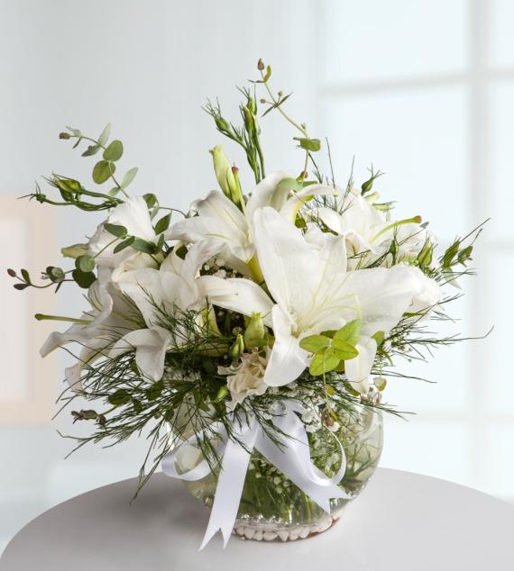 Lilyum ve Kır Çiçekleri