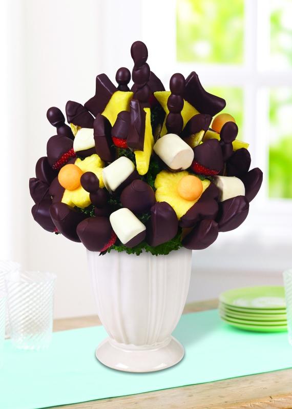 Çikolatalı Meyve Buketi