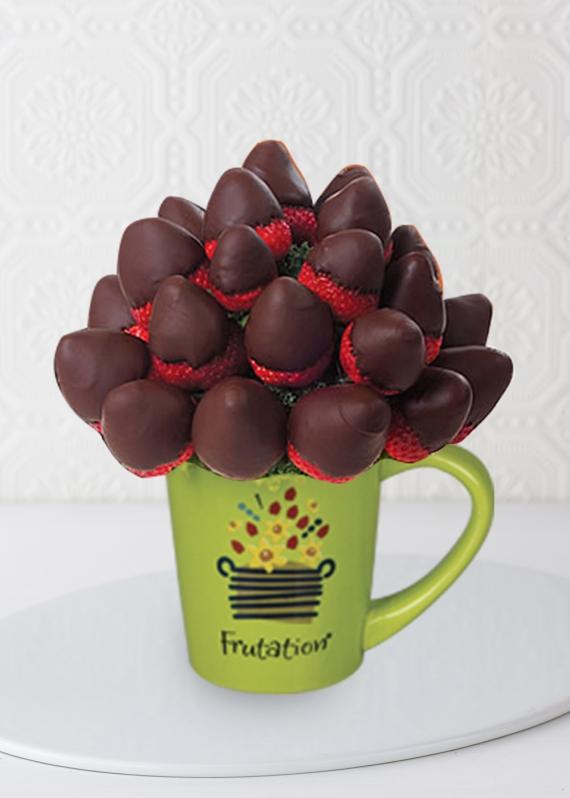 Çikolatali Çileklerle Takdir Buketi